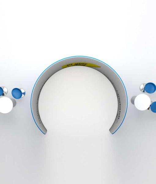 Messevegg buet romdeler i lekker design - fra Markedsmateriell.no