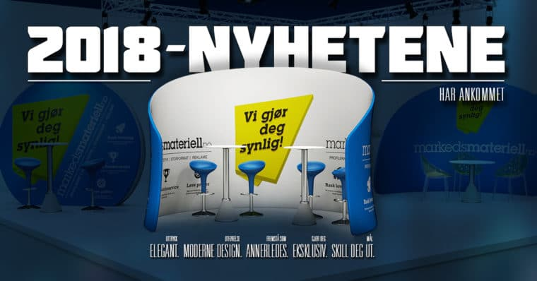 Markedsmateriell.no - Nyheter 2018
