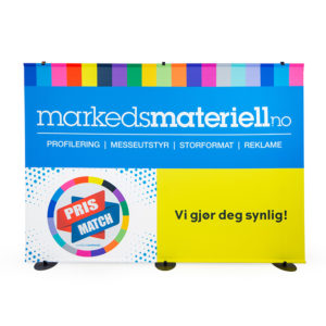 Messevegg Stage Rett – Markedsmateriell.no