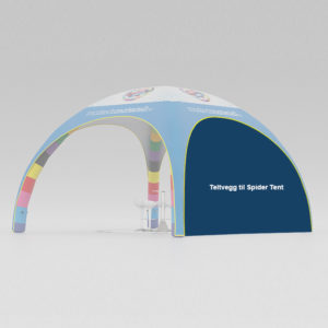 Spider tent vegg – Markedsmateriell.no