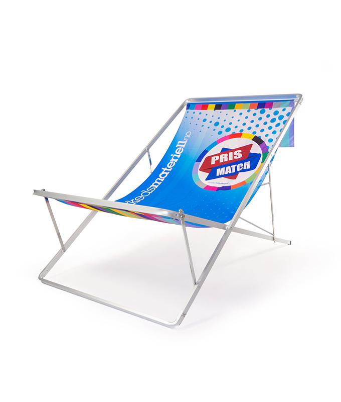 Frisk frugt Sit IT solstol med trykk fra Markedsmateriell.no LW52