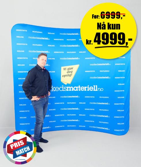 Buet Messevegg - Lagersalg hos Markedsmateriell.no!