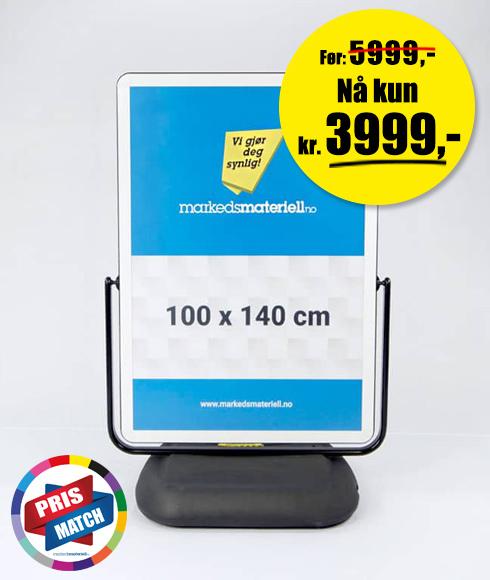 XL gatebukk syklon - Lagersalg hos Markedsmateriell.no!
