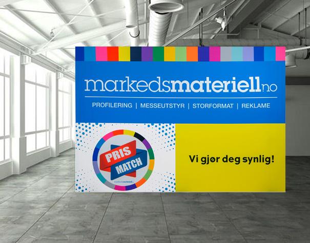 Skilt og bilder med trykk fra Markedsmateriell.no