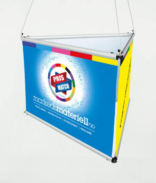 Takheng trekantet, banner, expo, takheng fra Markedsmateriell