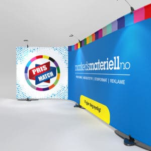 Messevegg Stage Wall – Markedsmateriell.no