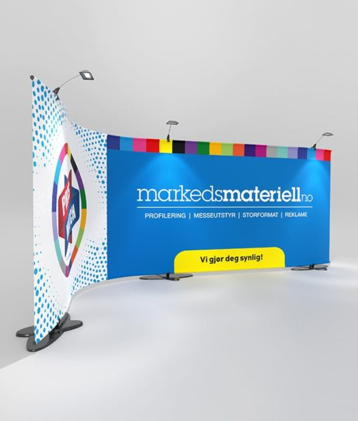 Messevegg Stage Wall - Markedsmateriell.no