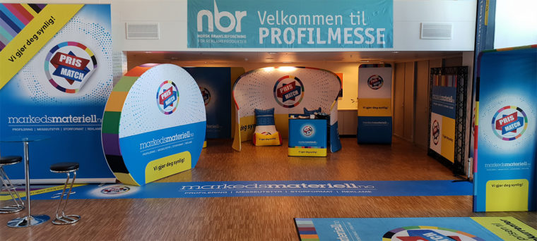 Markedsmateriell på NBR bransjemesse august 2018!
