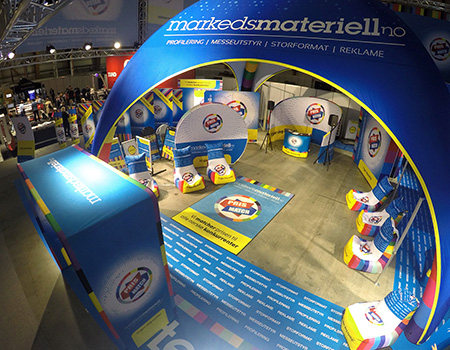 Markedsmateriell.no på Sign, Print & Pack-messen 2018