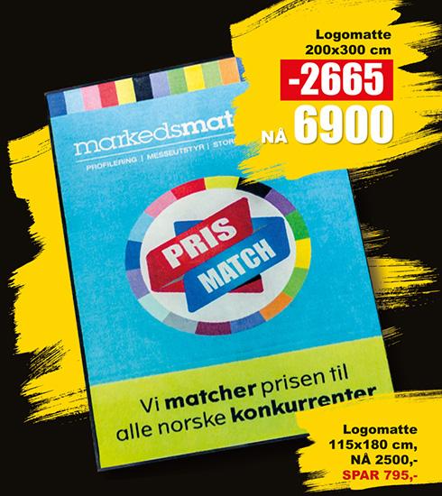 BLACK DAYS! Logomatter fra Markedsmateriell.no!