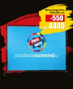BLACK DAYS! Messevegg Flex fra Markedsmateriell.no!